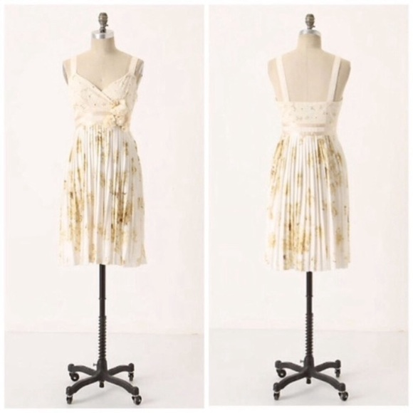 Anthropologie Dresses & Skirts - Anthro Deletta Tea and Sweets floral dress